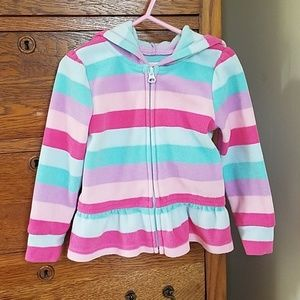 Children's Place Hooded fleece jacket
